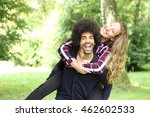 love couple outside | Shutterstock . vector #462602533