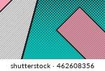 black and white pop art... | Shutterstock .eps vector #462608356