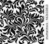 seamless pattern. tracery of... | Shutterstock .eps vector #462610813