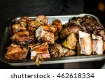 close up photo of a tray full... | Shutterstock . vector #462618334