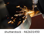 drill with diamond tipped... | Shutterstock . vector #462631450
