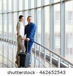 couple in love on vacation.... | Shutterstock . vector #462652543