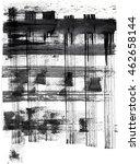 texture line stripe ink on... | Shutterstock . vector #462658144
