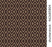seamless pattern with symmetric ... | Shutterstock .eps vector #462685804