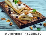 cottage cheese and raisin...   Shutterstock . vector #462688150