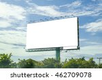 blank billboard for new...   Shutterstock . vector #462709078