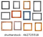 vintage picture frames  | Shutterstock . vector #462725518