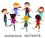 stickman illustration of... | Shutterstock .eps vector #462744478