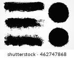 grunge design elements.grunge... | Shutterstock .eps vector #462747868