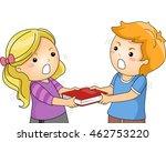 illustration of children... | Shutterstock .eps vector #462753220