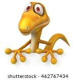 fun lizard | Shutterstock . vector #462767434
