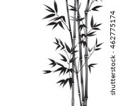 decorative bamboo branches... | Shutterstock .eps vector #462775174