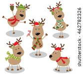 Collection Of Reindeer Design