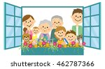 flowers in water to do around a ... | Shutterstock .eps vector #462787366