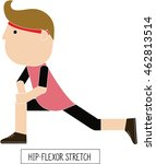 characters of healthy people in ... | Shutterstock .eps vector #462813514