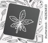 plant doodle | Shutterstock .eps vector #462826810