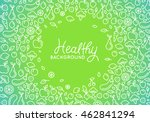 vector abstract background with ... | Shutterstock .eps vector #462841294