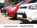 parked cars for sale   Shutterstock . vector #462875053