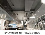 commercial ventilation system... | Shutterstock . vector #462884803