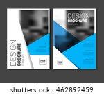 blue multipurpose business...   Shutterstock .eps vector #462892459