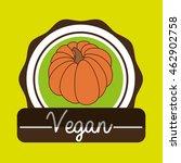 hand food vegan vegetables... | Shutterstock .eps vector #462902758