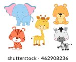 vector set collection set of... | Shutterstock .eps vector #462908236