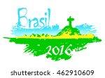 brasil 2016. brazilian... | Shutterstock . vector #462910609