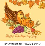 colorful vector hand drawn... | Shutterstock .eps vector #462911440