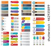 infographic templates for... | Shutterstock .eps vector #462935899