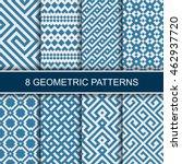 set of vector geometric...   Shutterstock .eps vector #462937720