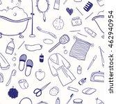 vector seamless patten.... | Shutterstock .eps vector #462940954