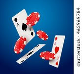 casino poker design template....
