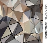 randomly scattered triangles of ... | Shutterstock .eps vector #462972454