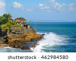 15th century hindu tanah lot... | Shutterstock . vector #462984580