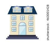 building construction... | Shutterstock .eps vector #463001428