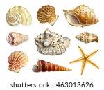 watercolor illustrations of... | Shutterstock . vector #463013626