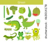 Green. Learn The Color....