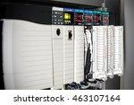 the plc computer plc... | Shutterstock . vector #463107164