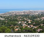 spectacular aerial panorama of... | Shutterstock . vector #463109330