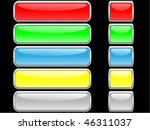 glossy internet buttons | Shutterstock .eps vector #46311037
