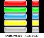 glossy internet buttons   Shutterstock .eps vector #46311037