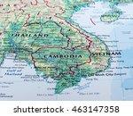 phnom penh  cambodia   circa... | Shutterstock . vector #463147358