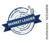market leader   performance ...   Shutterstock .eps vector #463166846