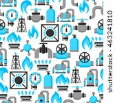 natural gas production ... | Shutterstock .eps vector #463241810