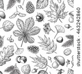 Autumn Seamless Vector Pattern...