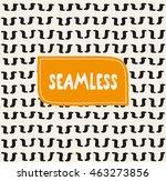 handsketched vector seamless... | Shutterstock .eps vector #463273856