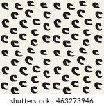 handsketched vector seamless... | Shutterstock .eps vector #463273946