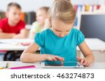 classroom. | Shutterstock . vector #463274873