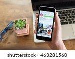chiang mai  thailand   august...   Shutterstock . vector #463281560