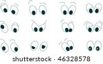 lot of types of expressions | Shutterstock .eps vector #46328578